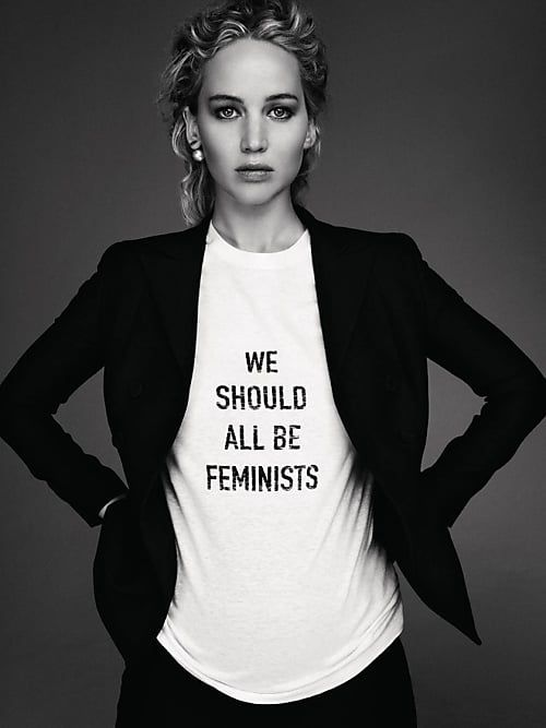 We should all be feminists | Jennifer Lawrence