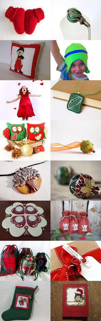 Happy Hoolidays by Marianna Tabáni on Etsy--Pinned with TreasuryPin.com
