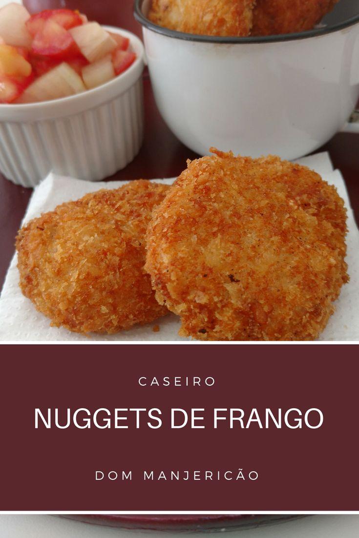 Aprenda a preparar esses nuggets de frango caseiro, garanto que nunca mais você irá consumir os industrializados