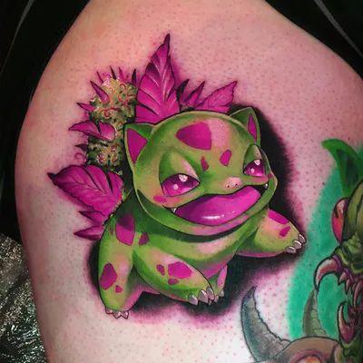 The wonderful wildlife of Angelique Grimm - The wonderful wildlife of Angelique Grimm – Tattoo Spirit - Dope Tattoos, Bild Tattoos, Badass Tattoos, Body Art Tattoos, Tribal Tattoos, Sleeve Tattoos, Gamer Tattoos, Nintendo Tattoo, Pokemon Tattoo