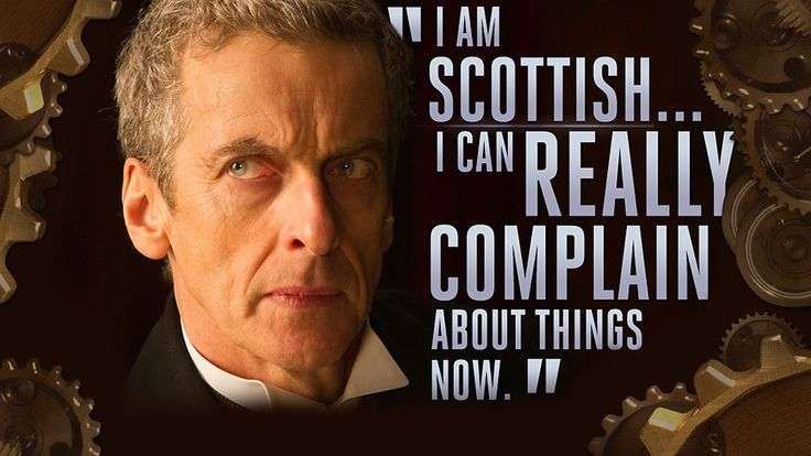 The Twelfth Doctor - Series 8 Quotes... I know what he means!