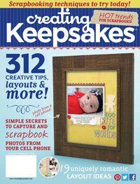 Current Issues of Creating Keepsakes scrapbooking magazine | Creating Keepsakes