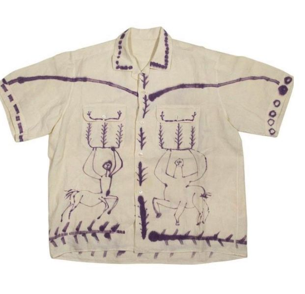 shirt that Picasso drew on