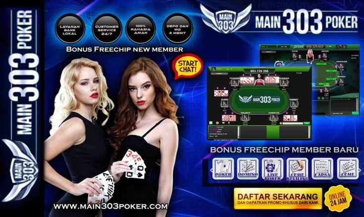 Freechip KartuHoki DominoQQ Main303poker (With images
