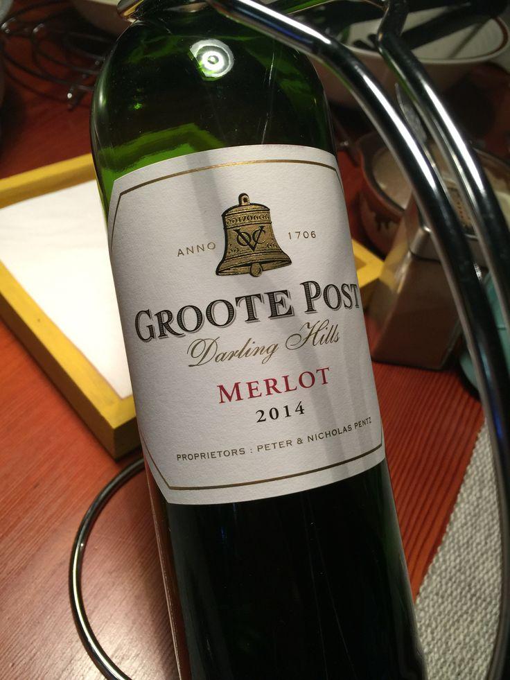 Groote Post, Merlot 2015, Darling, WC