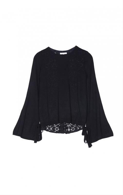 Γυναίκα :: Ρούχα :: Πουλόβερ & Φούτερ :: GRACE & MILA ΠΟΥΛΟΒΕΡ NOIR - Infashionshop.gr | Γυναικεία και Ανδρικά Ρούχα και Αξεσουάρ American Vintage, Reiko και Hipanema
