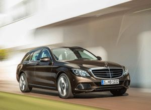 2015 Mercedes C-Class Estate is 4,702 mm long, which means it is 96 mm