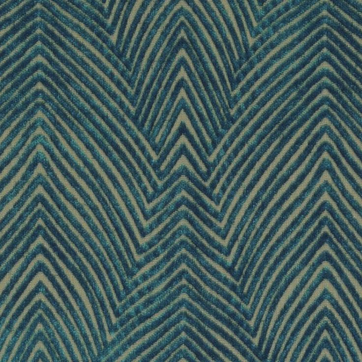 Modern Dark Teal Velvet Upholstery Fabric for by PopDecorFabrics
