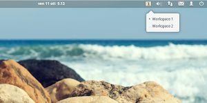 Indicator Eos Workspaces accedere ai vari spazi di lavoro di elementary OS con un click sul pannello  #software #elementaryos #linux