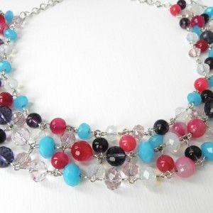 Diversity  - Sash Accessories statement necklace