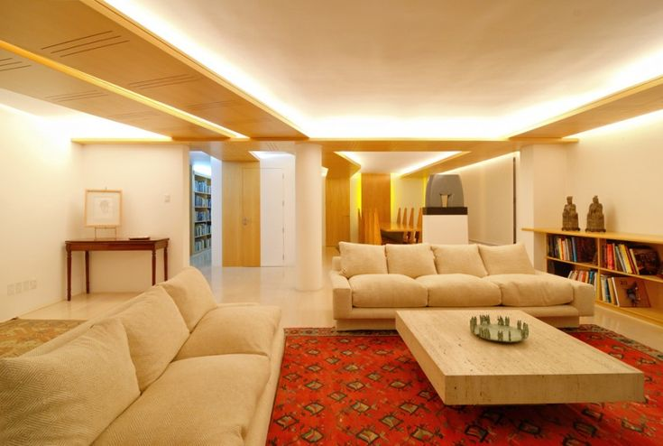 The Best Ideas of Low Ceiling Designs Solutions : Luxurious Living Room Low Ceiling Designs Solutions