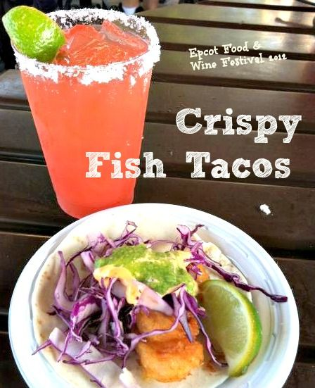 Crispy Shrimp Tacos ~ The Best of Epcot Food and Wine | Recipe | Kid ...