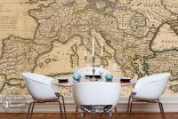 mata magnetyczna Historyczna mapa świata