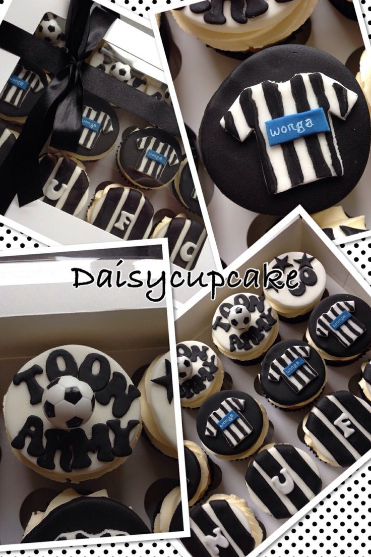 ... Newcastle United cupcakes  Cupcakes  Pinterest  Cupcake, Newcastle