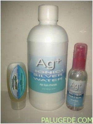 Ag+ 3IN1 | Ionic Silver Gel & Ionic Silver Water Untuk Kesehatan & Kecantikan Kulit Alami Tanpa Obat