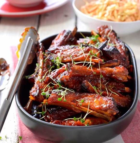 Sticky Moroccan Lamb Riblets