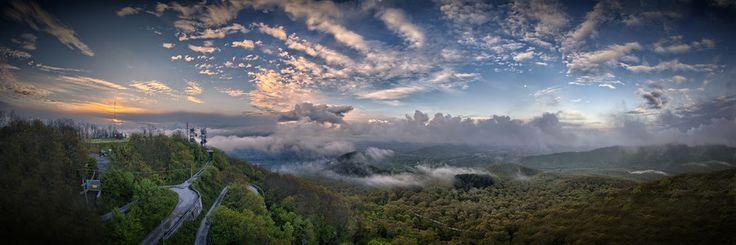 Landscape Dawn from Roccamonfina Volcano by Giorgio Galano on 500px