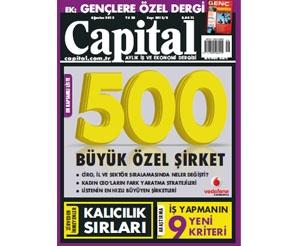 Capital Ağustos sayısı...