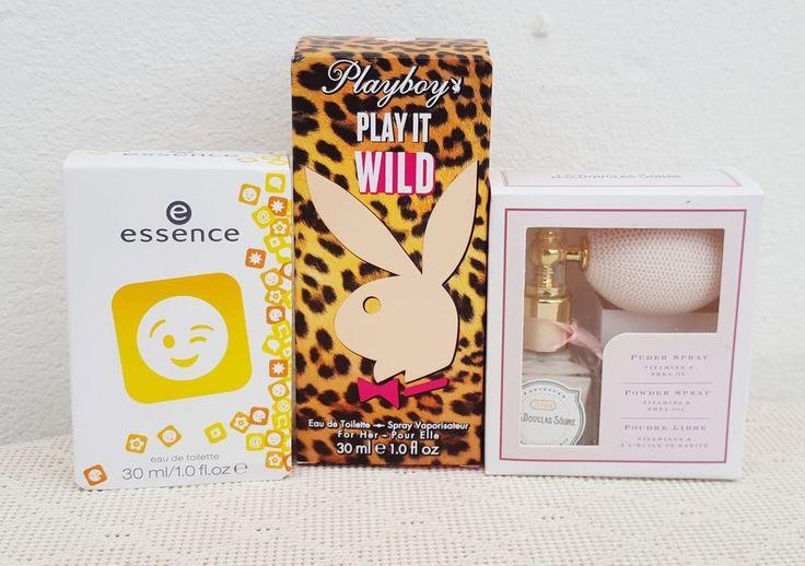 NEU Playboy Parfum  Play it Wild  + Essence Parfum + Douglas Puder Spray