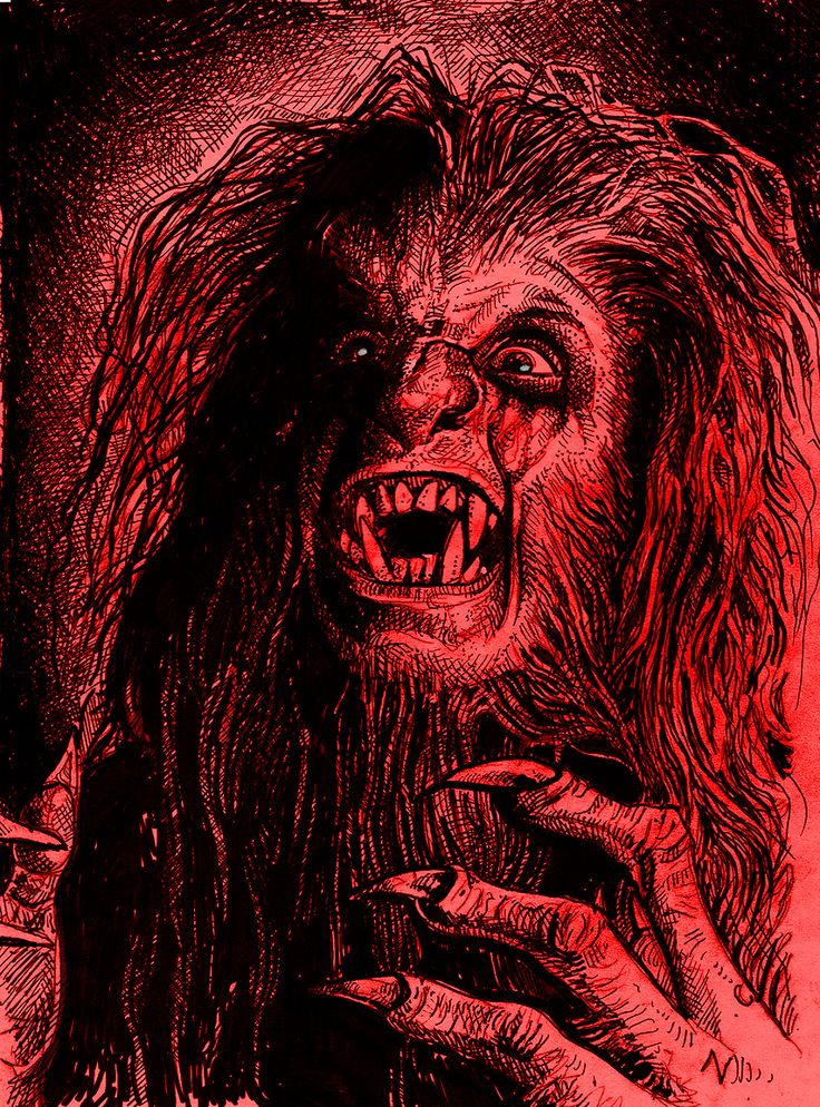 OZZY  WEREWOLF  BARK AT THE MOON  2 by Legrande62
