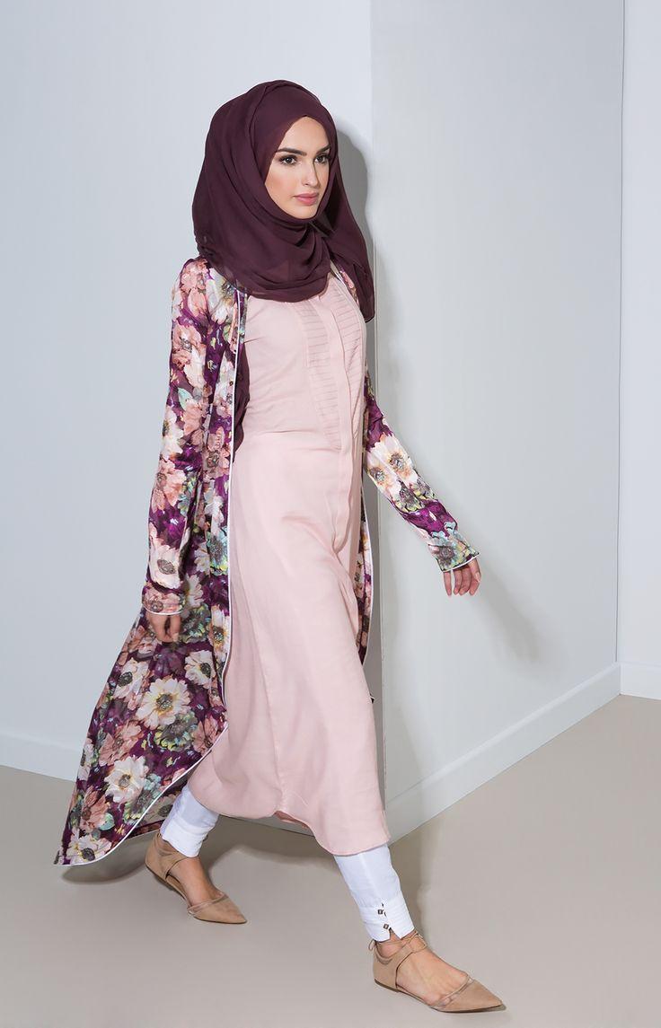 Aab UK Purple Orchid Kimono : Standard view