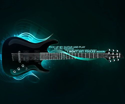 Guitar Wallpaper Hd For Desktop: 85 Best 3D WALLPAPERS Images On Pinterest