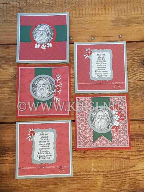 Kirsi: Julkort till Kyrkan- Christmas card for the Church...