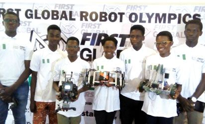 Team Nigeria For Global First Robot Olympics In Washington (Photo) - Sports - Nigeria