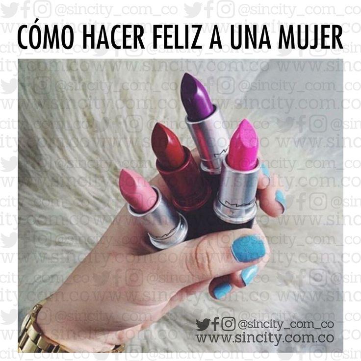 Déjala ser. #imagenes #imagenessincity #sincity #sincitycolombia #colombia #mujer #mujeres #mujerfeliz #comohacerfelizaunamujer #serfeliz #felicidad #labial #labiales #mac