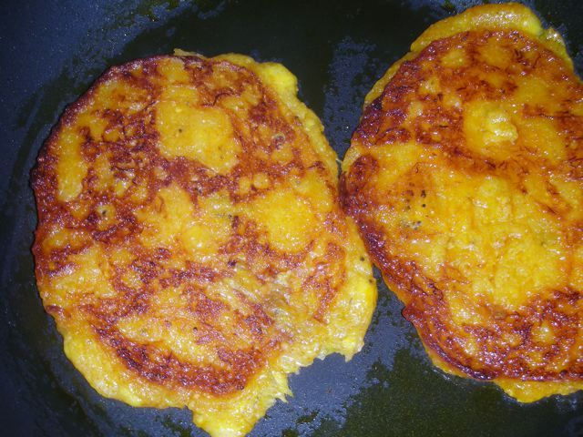 I'm partial to versatile ripe plantains. One of my favorite ways to cook (and eat!) them is as a simple savory (no syrup, please) pancake a...