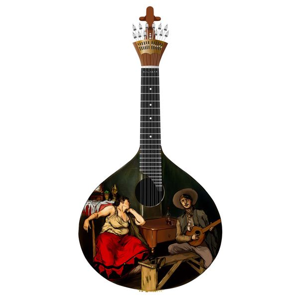Guitarra Fado Malhoa