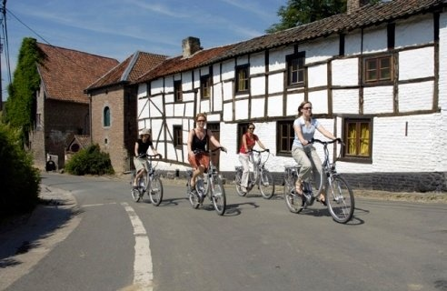 Nieuw: fietsroutenetwerk in de Voerstreek