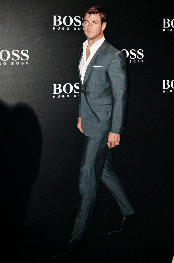 chris hugo boss