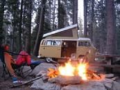 Rent a vintage surfari Wagon and go along the CA coast. A little more than my date night budget can take, but it would be so much fun.