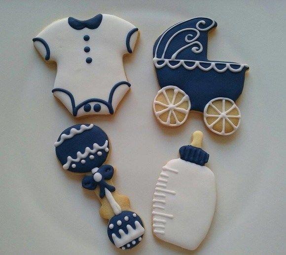 biscoitos para Chá de Bebê e maternidade