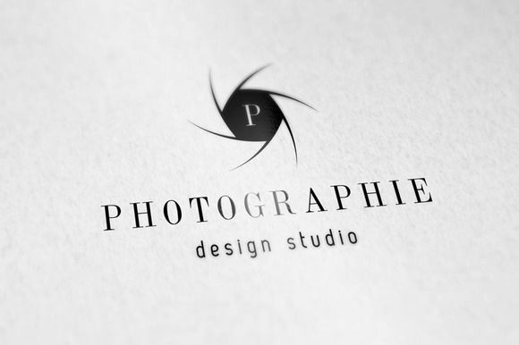 Elegant Photography Studio Logo by IDVisionStudio on Creative Market