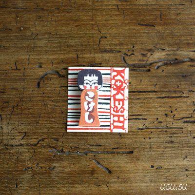 RESTOCKED // Mihoko Seki Kokeshi Mini Sticky Notes | UGUiSU Online Store