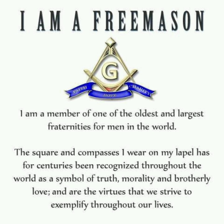 Marvelous I Am A Freemason. I Care These Beliefs Beyond My Past Brothers, Family  Members And Hope To Pass Them Along To A Future Brother.