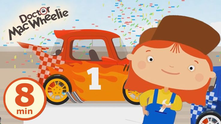 Cartoni animati: Mac Wheelie e le avventure della macchinina rossa