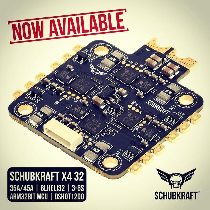 SCHUBKRAFT X4 35A ESC | BlHeli32  Available now! @ flyingfolk.com Follow  Tag @schubkraft_fpv #fpv #fpvracing #lumenier #quadlife #quad #racing #dronechampionsleague #kiss #quaddiction #dronesque #airvuz #multirotor #multigp #blheli #esc #multishot #drone #schubkraft #flyingfolk #droneracing #2205 #2206 #2207 #blhelis  #drones #blheli32 #dcl #helix #dshot - http://ift.tt/2euDRWt