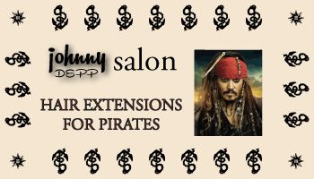 Lesson 12 Fictitious Johnny Depp Business Card