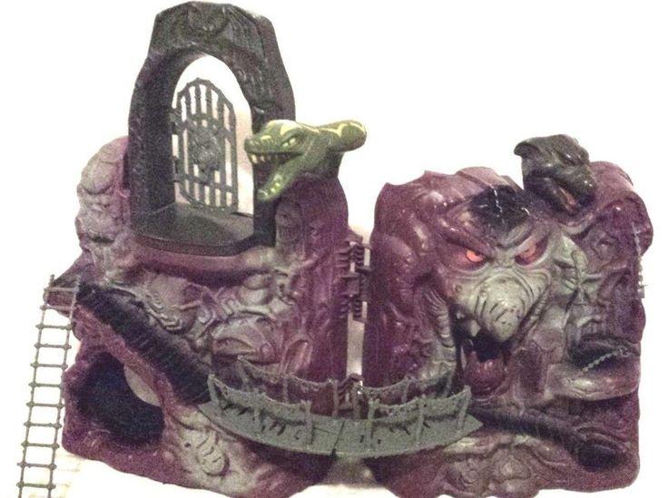 vintage snake mountain evil horde skeletor castle