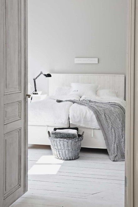 Bedroom inspiration. French Grey. View our range of French beds here: http://loaf.com/styles/french-beds