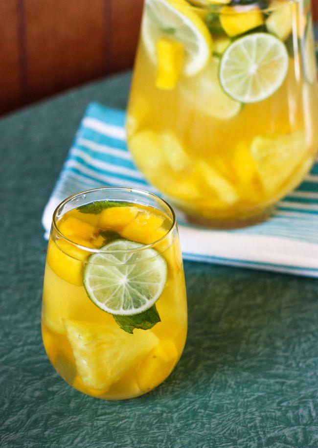 Tropical Citrus Sangria | Beverages | Pinterest
