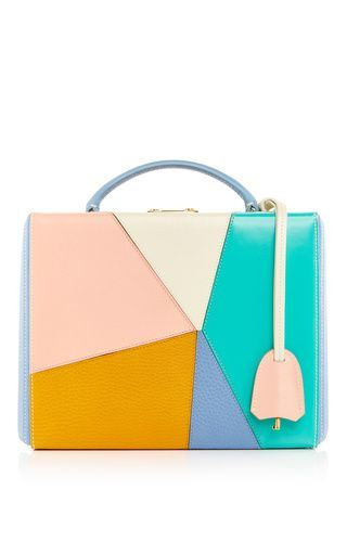 Multicolor leather grace large box bag by MARK CROSS for Preorder on Moda Operandi