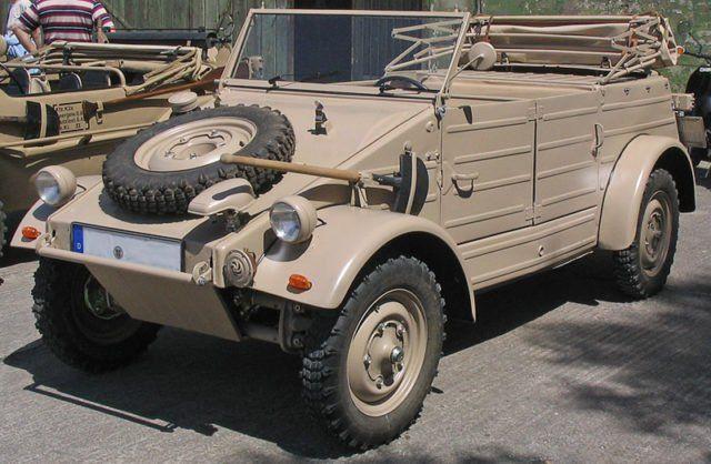 A type 82 Volkswagen Kübelwagen