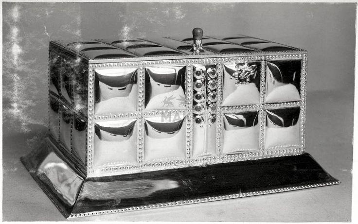 "** Hoffmann, Josef / Wiener Werkstätte, ""Schmuckkassette"",1907"
