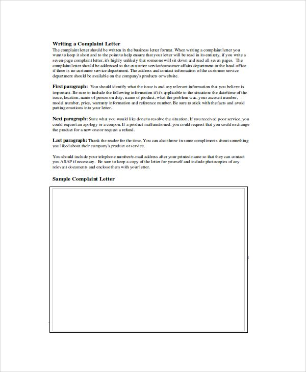Best 25+ Official letter format ideas on Pinterest Format of - business complaint letter format