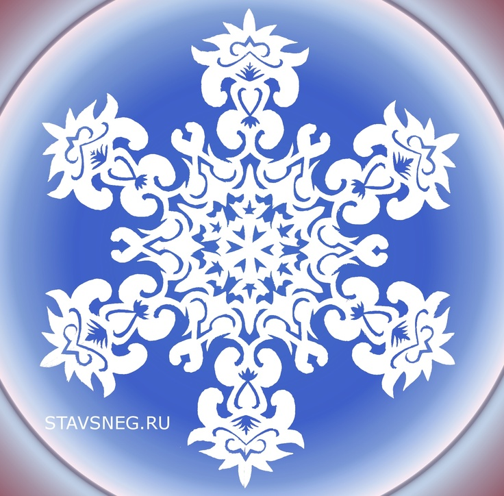 112 best snowflakes paper patterns tutorials images on for How to make a real paper snowflake