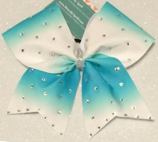 Bows by April - Dip Dyed Ombré Cheer Bow Available in Several Colors, $15.00 (http://www.bowsbyapril.com/dip-dyed-ombre-cheer-bow-available-in-several-colors/)
